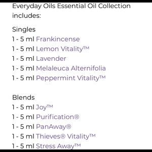 young living Other - Young Living Everyday Essential Oils Collection